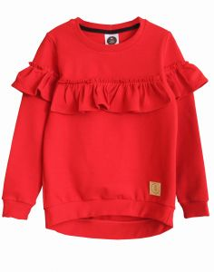 Bluza FRILL red