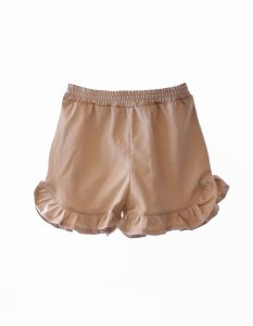 Shorts FRILL beige