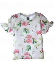 T-Shirt GRASS and Rose