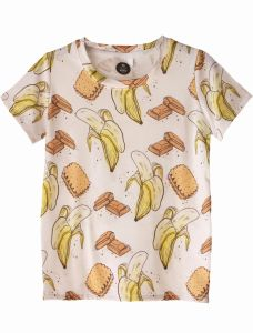 T-Shirt BANANAS white