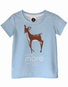 T-Shirt  ROE-DEER blue
