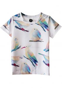 T-Shirt BIRDS colorful