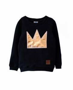 Bluza GOLD CROWN black