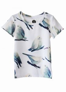 T-Shirt BIRDS beige