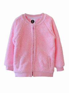 Bluza BEAR ZIP pink