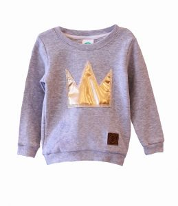 Bluza GOLD CROWN grey