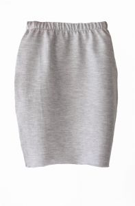 Skirt PENCIL grey